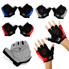 Sports Racing Cycling Motorcycle MTB Bike Bicycle Gel Half Finger Gloves...