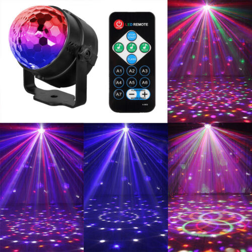 AGM LED Lichteffekt Discokugel Partylicht DJ KTV RGB Bühnenbeleuchtung Projektor