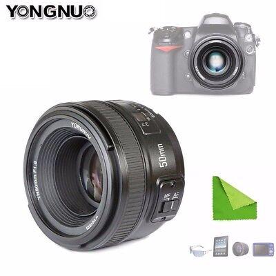 YONGNUO YN 50mm F1.8 Autofokus Lens Objektiv Full Frame Für Nikon DSLR Kamera