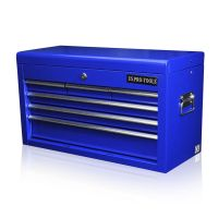 162 US PRO TOOLS BLUE MECHANICS 6 DRAWER TOOL STORAGE ...