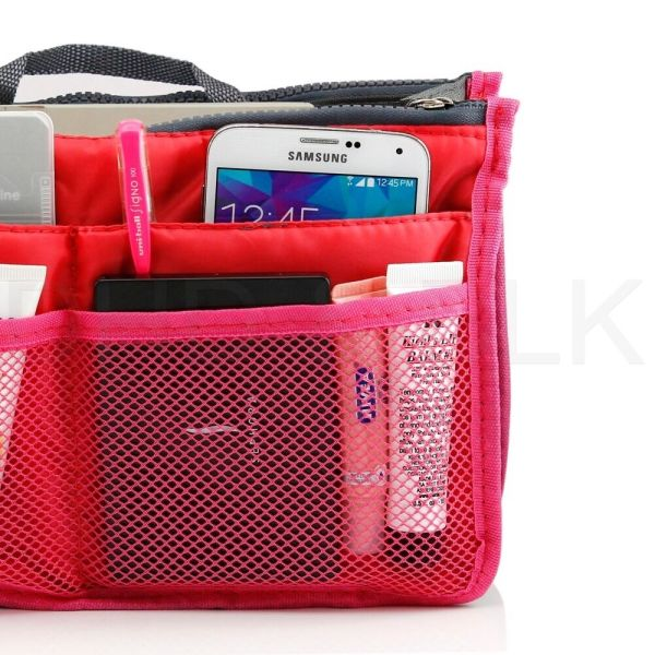 Women Lady Travel Insert Handbag Organiser Purse Large Liner Organizer Tidy Bag 3