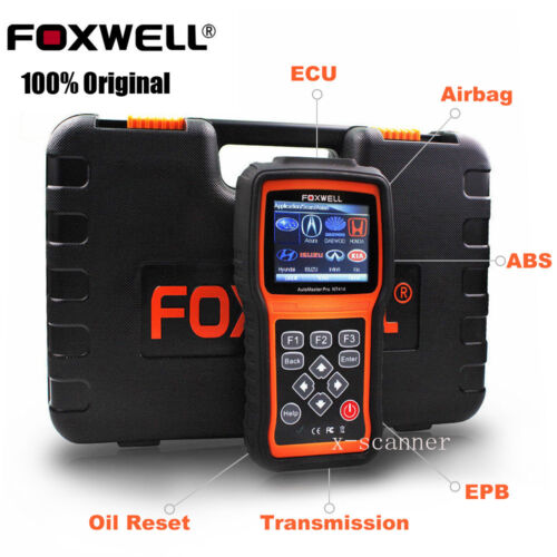 Foxwell Nt414 Car Diagnostic Scan Tool 4 Systems