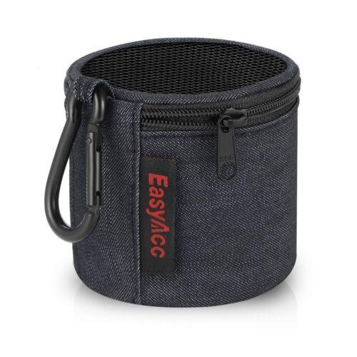 EasyAcc Bluetooth Lautsprecher Tasche Reise leichte Tragetasche Hülle - Schwarz