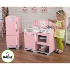 Kid Craft Kitchen Wolf Kidkraft Retro Ebay 2 Piece And Refrigerator 53160 Pink