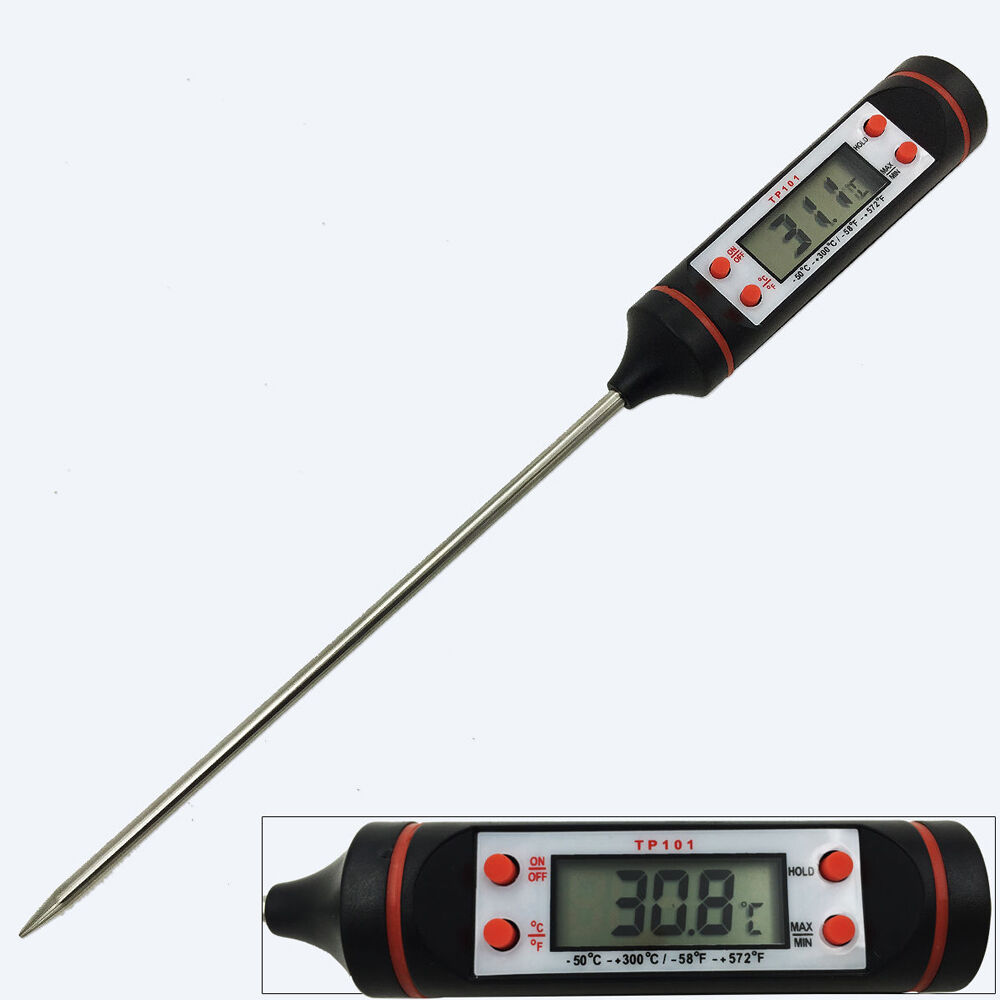Home test kitchen cooking with gear & gadgets so, you're using a meat thermometer to temp your ch. Electronic Meat Thermometer Kitchen Tools Digital Food ...