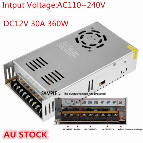 More Project Images Of 12v 20a Regulated Dc Power Supply Circuit