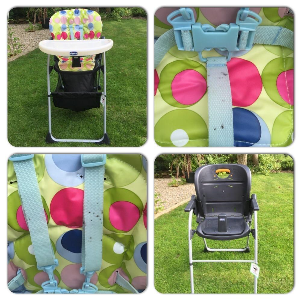Chicco Polly high chair  in Haywards Heath West Sussex
