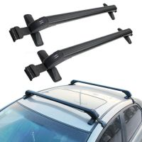 Universal Cars Black Anti Theft Car Roof Bars Without ...