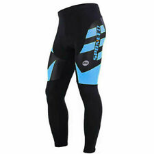 Thermal Fleece Bicycle Pants Winter Bike Trousers Padded Men Warm Sports...