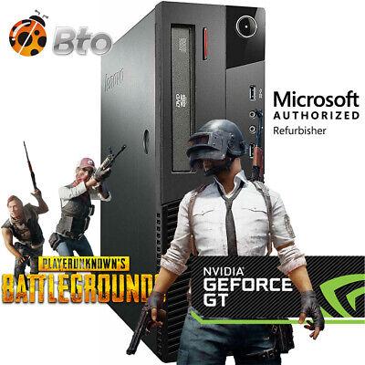 Gaming Desktop PC 1TB Nvidia GT 1030 HDMI 3.2Ghz 16GB RAM WiFi Win 10 Computer