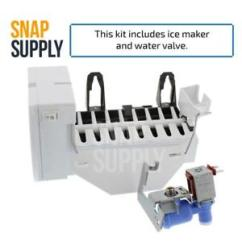 Ice Maker Diagram Wiring For Single Phase Motor Ge Parts Ebay And Water Valve Kit Part Wr30x10093kit