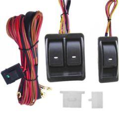 Power Window Fort Universal 12v Dc 1965 Mustang Alternator Wiring Diagram Switch Ebay Kits With Harness Holder Stock