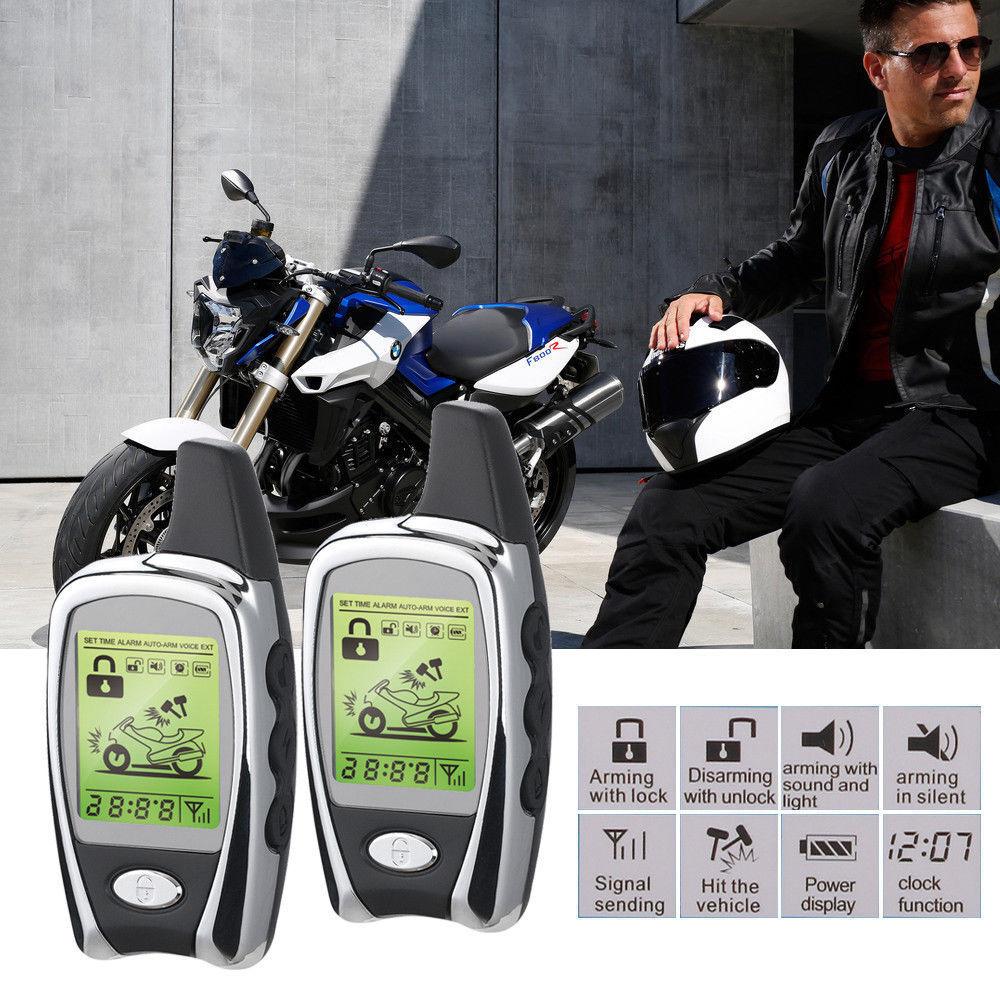 Waterproof Mainframe Keyless Driving Motorcycle Remote Start Alarm