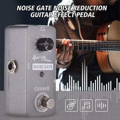 CUVAVE NOISE GATE Noise Reduction Guitar Effect Pedal Zinc Alloy Shell UK F2D2