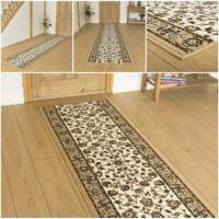 Persian Beige - Hallway Carpet Runner Rug Traditional Hall ...