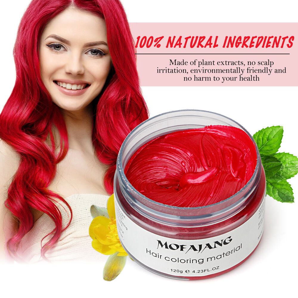 temporary styling hair wax pomade
