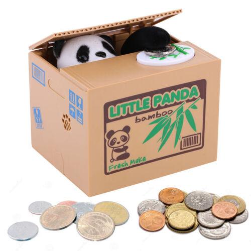 Kreativ! Elektronisch Spardose Sparbüchse Sparbox: Panda stiehlt Münze! ^_^