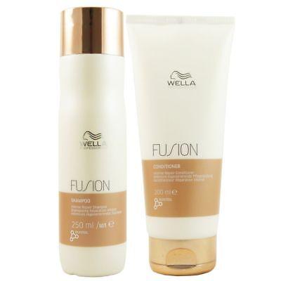 Wella Fusion Intense Repair regenerierendes Shampoo 250ml & Conditioner 200ml Se
