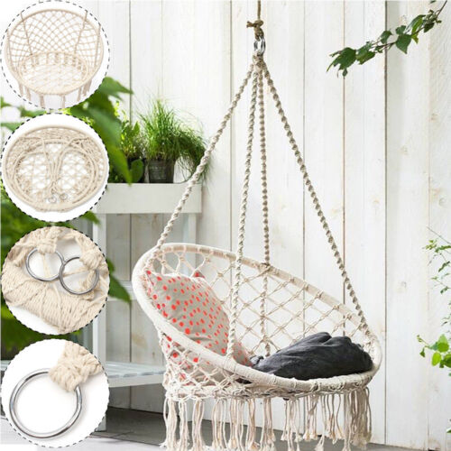 swing chair sydney canvas deck chairs hanging hammock garden yard patio home relaxing au new