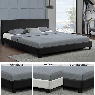 Polsterbett Doppelbett Design  Bettgestell Bettrahmen mit Lattenrost   ArtLife