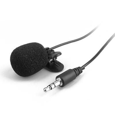 Externes Clip-on Lavalier-Ansteckmikrofon Mic für iPhone Smartphone Record R5B7