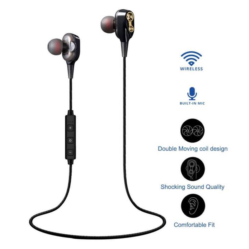 Wireless Bluetooth Earbuds Headset In Ear Headphone for