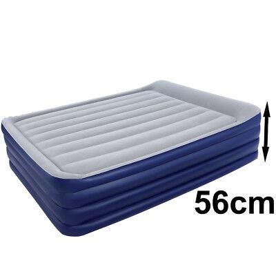 Bestway 203x152x56 Luftbett mit Pumpe Gästebett Bett Matratze selbstaufblasend