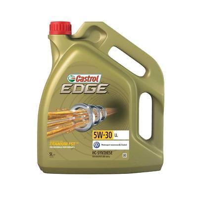 Castrol Edge 5W-30 LL Motoröl mit Titanium FST, 5 Liter