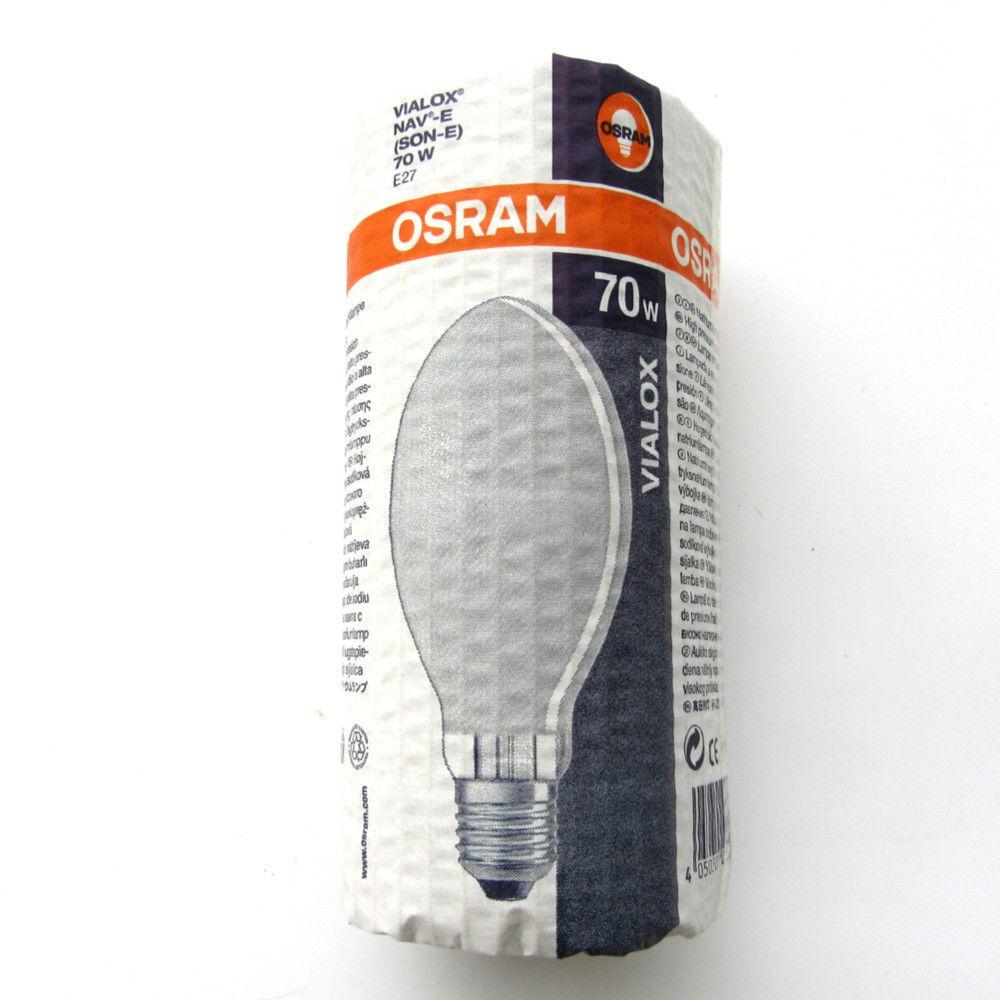 Osram Natriumdampf Hochdrucklampe Vialox NAV-E SON-E 70W E27 015767