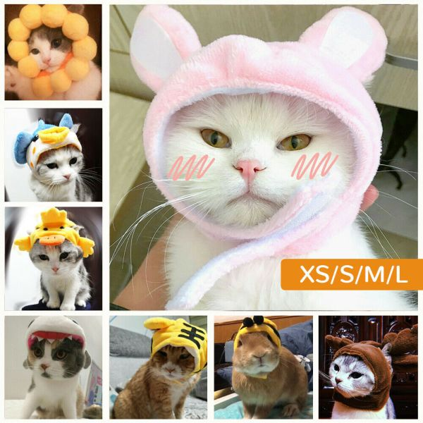 1Pet Dog Cat Hat Headgear Costume Funny Animals Cap Halloween Party Decoration @