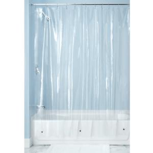 InterDesign 14581 Vinyl Shower Curtain Liner Clear Extra Long 72 X 96 Bathroom EBay