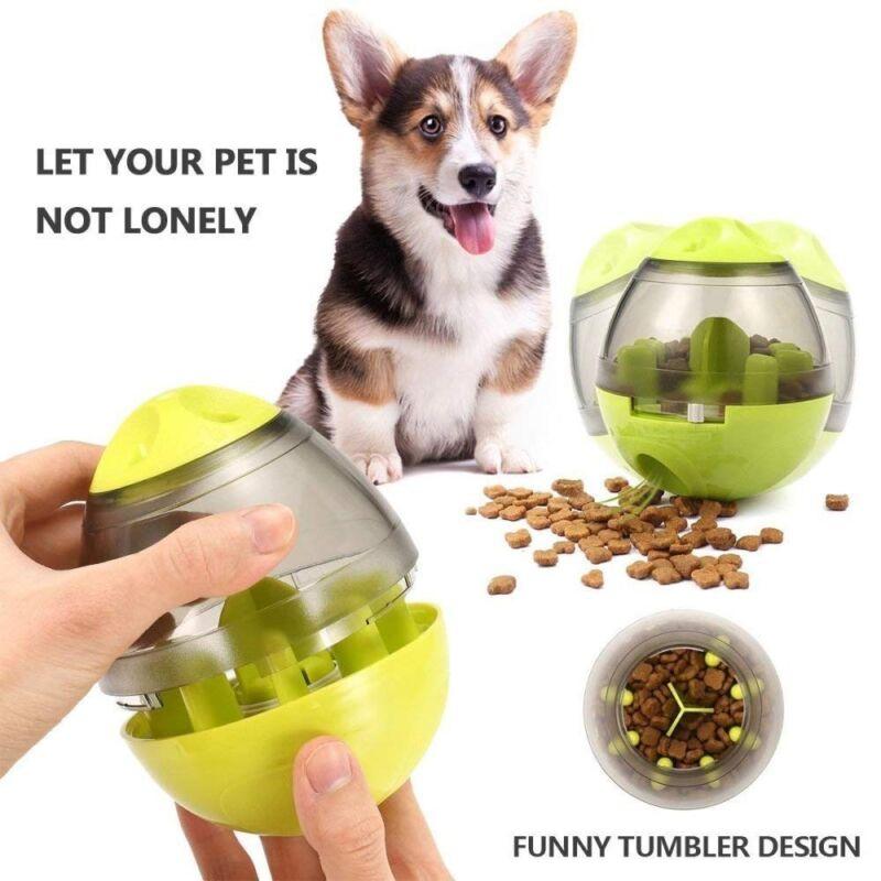 Intelligenz Ford Fun Futterball Snackball Leckerli Ball Spielzeug Hunde Katzen