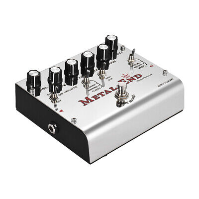 BIYANG METAL-END King High Gain Distortion Effect Pedal Built-in Amplifier Q8Y1