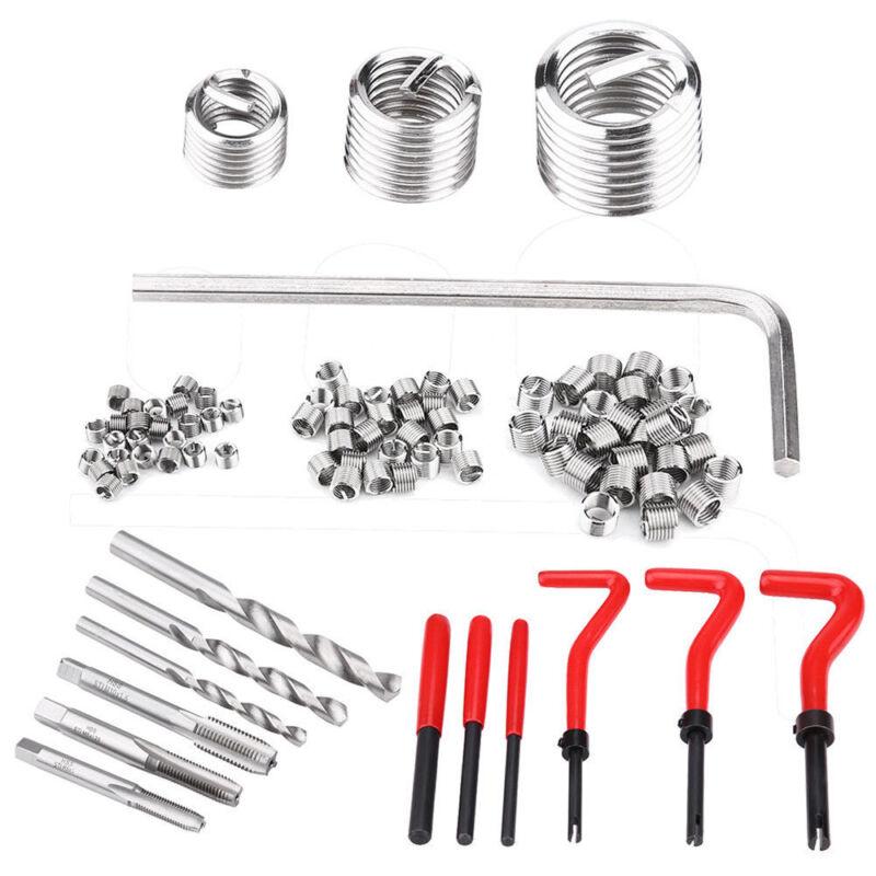 Metric Thread Repair Insert Kit M4 M5 M6 M8 M10 M12 M14