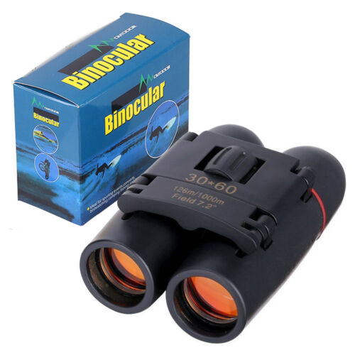 Fernglas 30 x 60 Binocular Fernrohr zusammenklappbar Feldstecher Nachtsicht Zoom