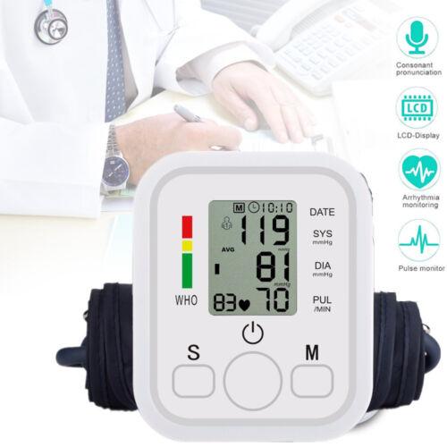 Digital Oberarm Blutdruckmessgert Handgelenk-Blutdruckmessgerät Leichte Lesbar
