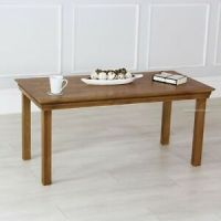 French Farmhouse Oak Coffee Table - Large - Rectangular ...