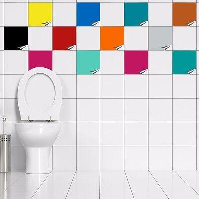 Fliesenaufkleber für Küche u Bad 15x15 cm Fliesen Aufkleber Kacheldekor Fliese
