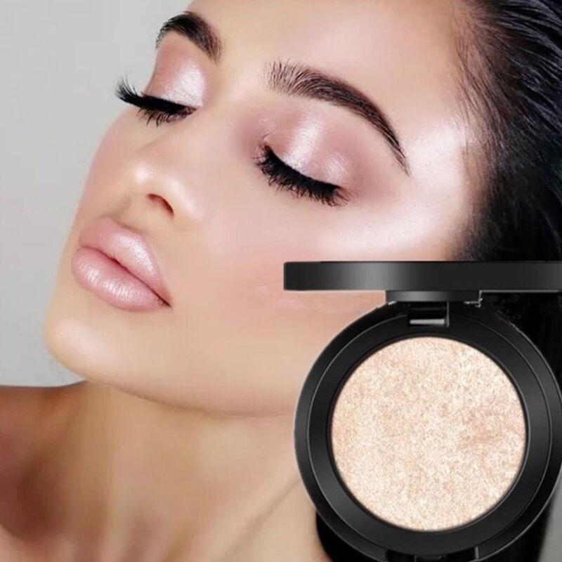 Frau Gesichtspuder Highlighter Bronzer Makeup Contour Palette Powder Glow Neue~