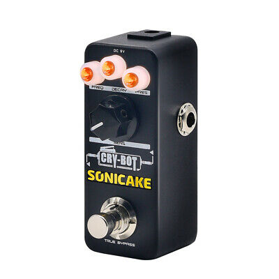 SONICAKE Cry Bot Auto wah Envelope Filter Funky Mojo Guitar Effects Pedal QSS-07