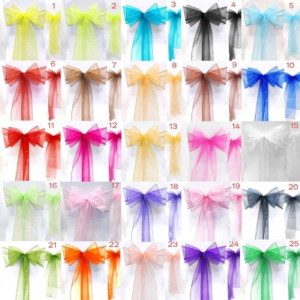 chair covers for parties to buy toddler upholstered uk organza sash cover bows wedding party high quality https i ebayimg com 00 s mtawmfgxmdaw