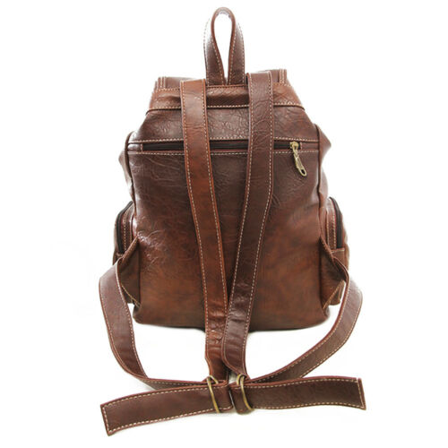 Vintage Womens Leather Backpack Shoulder School Shoulder Satchel HandBag Travel 3