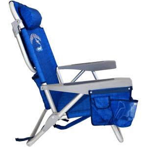 backpack chairs dining table chair set hans olsen frem rojle tommy bahama 600 denier blue ebay