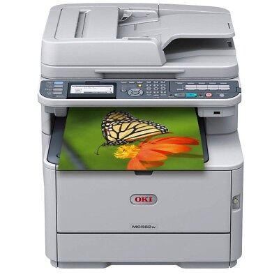 OKI MC562dnw Farblaser-Multifunktionsgerät A4 Drucker Kopierer Scanner  Neu /OVP