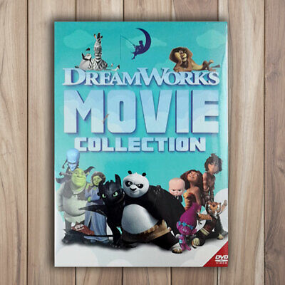 Dreamworks 24 Movie Collection Lot DVD Box Set 12-Disc Brand New & Factory Seal