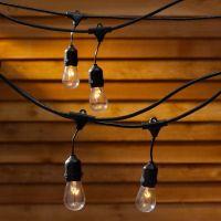 Outdoor Vintage Retro Style LED Festoon Party Lights Fairy ...