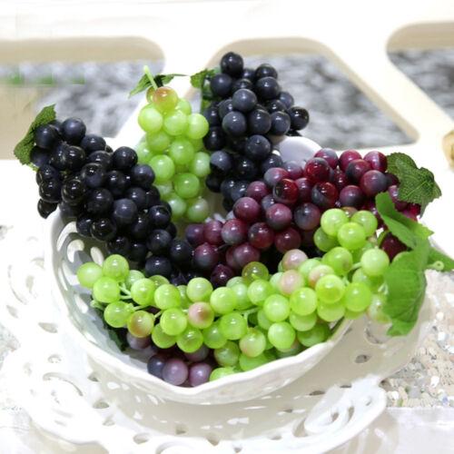 Deko Weintrauben Rispe Wein Trauben Kunstobst Kunstgemüse künstliches Obst