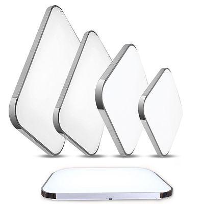 LED Panel Silber Deckenleuchte Deckenlampe Flurleuchte Dimmbare Wandlampe Lamp
