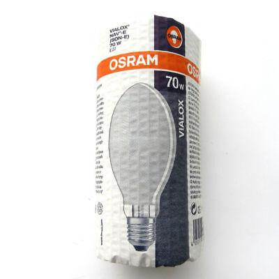 1 Stück Osram Natriumdampf Hochdrucklampe Vialox NAV-E SON-E 70W E27 O
