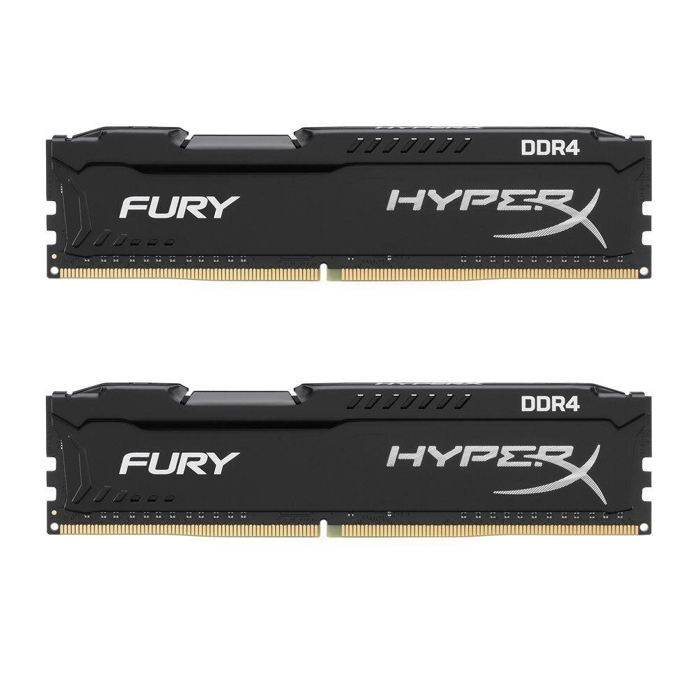 Arbeitsspeicher RAM Kingston HyperX Fury Black Series DDR4 16GB (2x8GB) 2666MHz